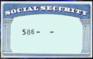 Social Security Card for sale