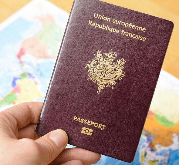 fake French passport for sale
