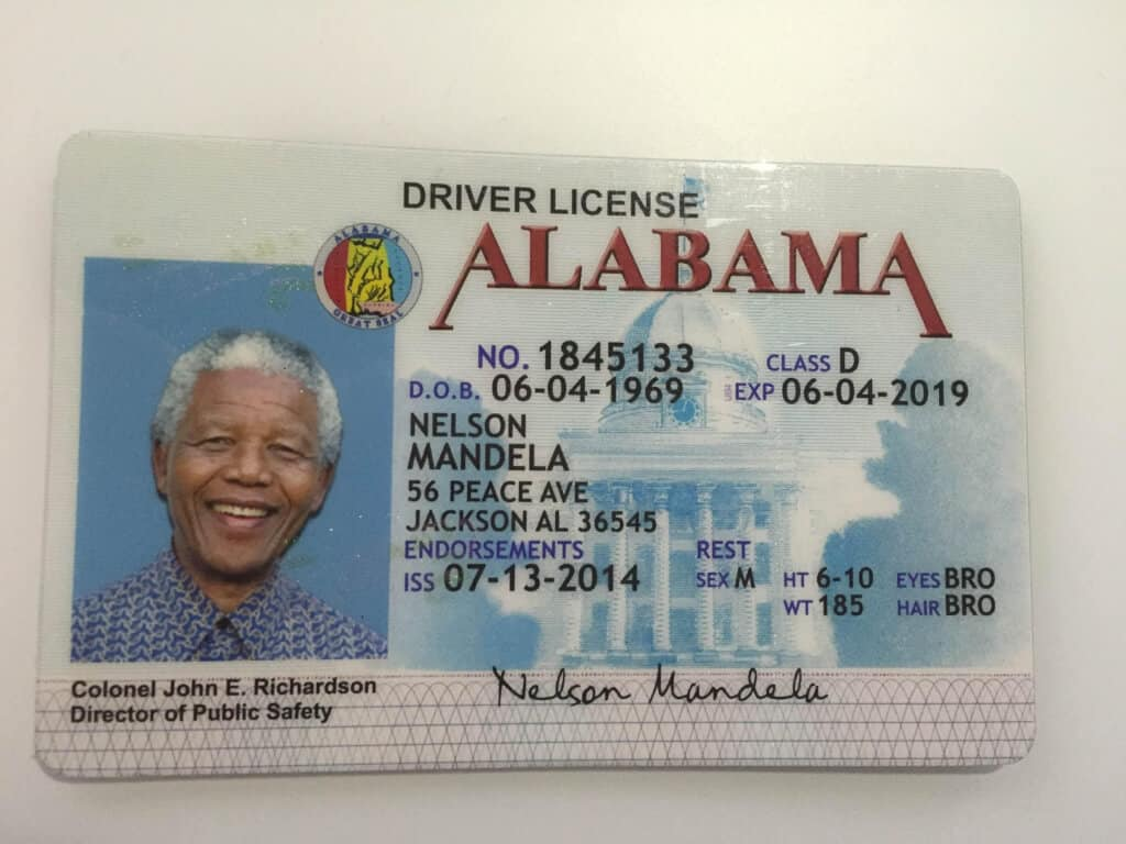 High Quality Driver's Licenses